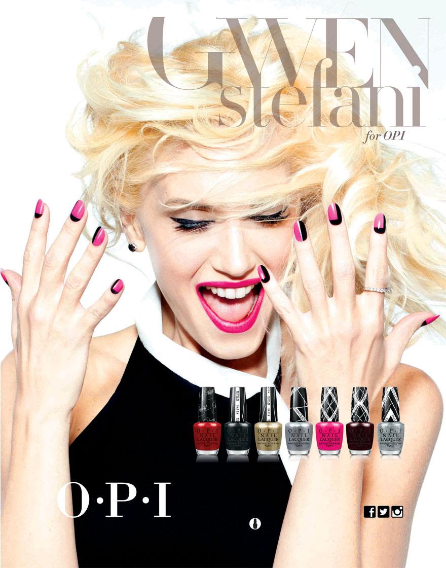 Gwen Stefani para O.P.I